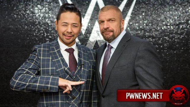 Шинске Накамура начнет фьюд с бывшим чемпионом WWE?