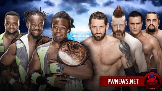 Изменения в матче Лиги Наций с Новым Днем на WrestleMania