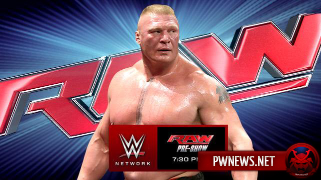 Превью к WWE Monday Night RAW 01.02.2016