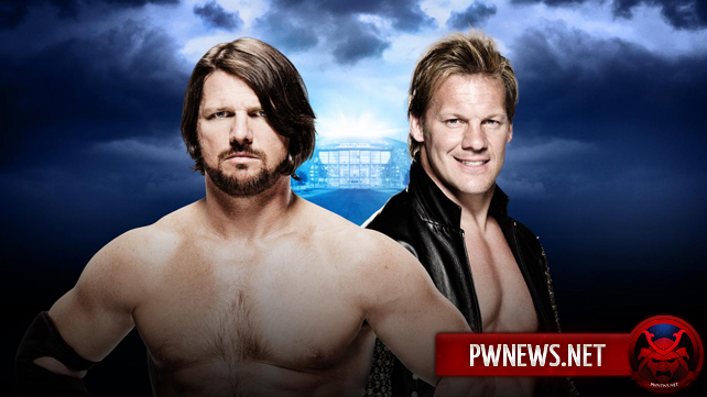 AJ Styles vs. Chris Jericho — Wrestlemania 32
