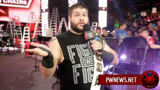 WWE готовят большие планы на Кевина Оуэнса