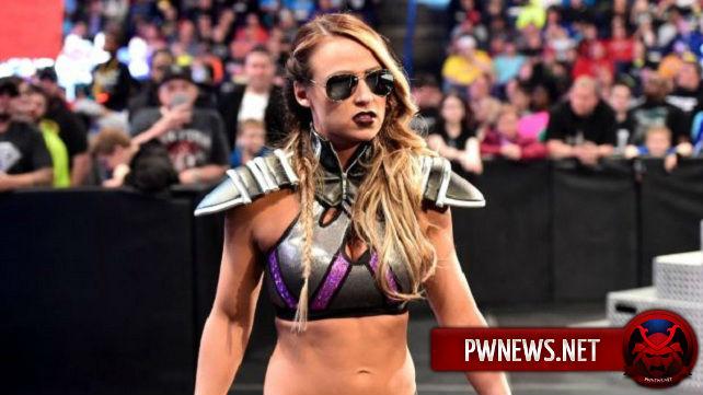 Эммой очень довольны в WWE, и возможно приготовят для нее титульный сюжет