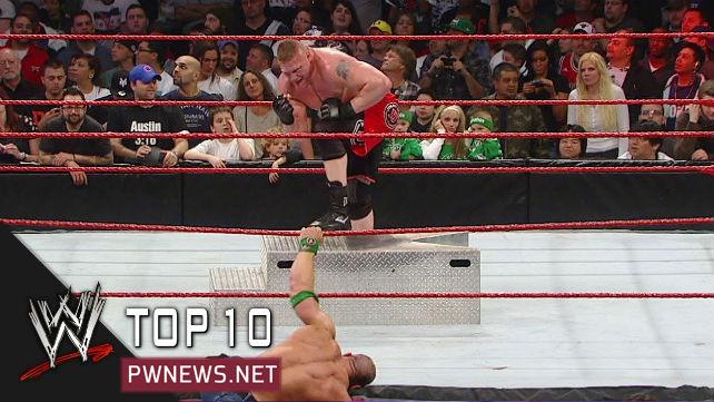 ТОП-10 лучших матчей в истории Extreme Rules