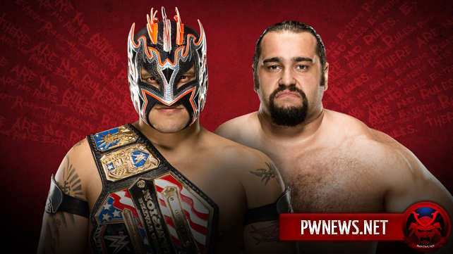 Kalisto vs. Rusev — WWE Extreme Rules 2016