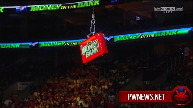 WWE отказались от седьмого участника Money in the Bank матча за кейс