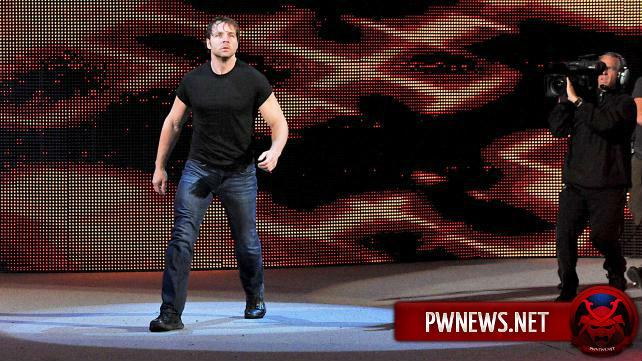 Что творили Крис Джерико и Дин Эмброуз после Monday Night RAW?