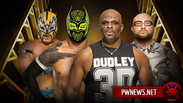 The Lucha Dragons vs. The Dudley Boyz (Kickoff Match)
