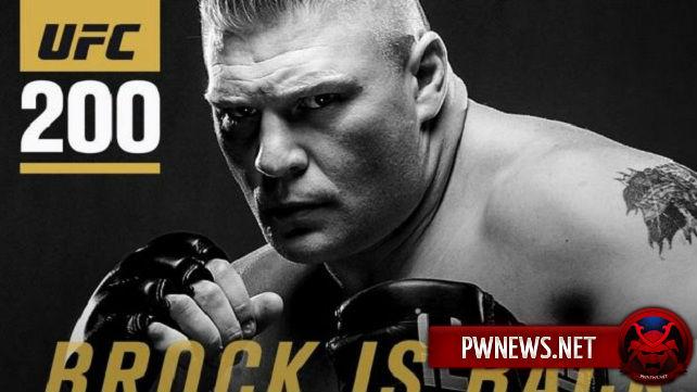 Известен соперник Брока Леснара на UFC 200 (+ интервью Леснара о происходящем)
