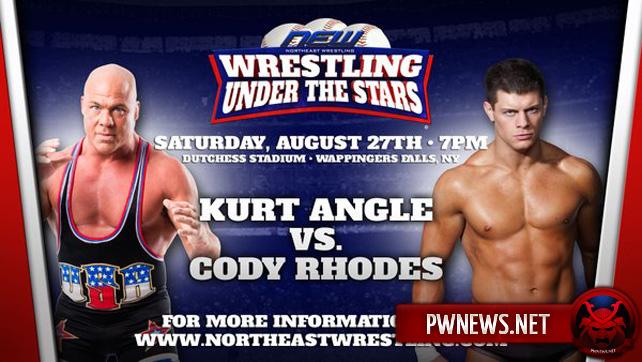 Коди Роудс проведет матч с Куртом Энглом в конце лета