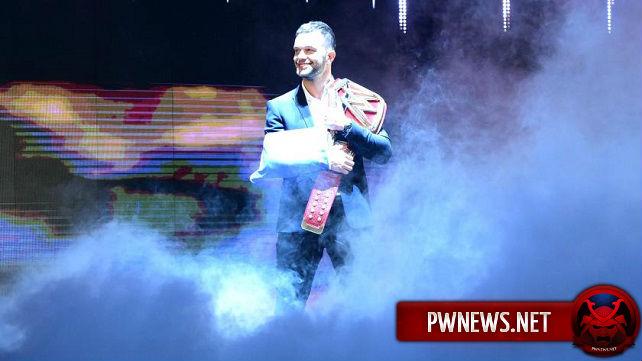 Оригинальные планы на Финна Бэлора, как всемирного чемпиона WWE