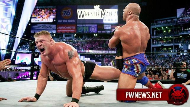 Контракт Курта Энгла с WWE будет похож на контракт Брока Леснара?