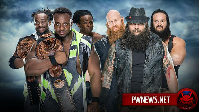 The New Day vs. The Wyatt Family – WWE BattleGround 2016