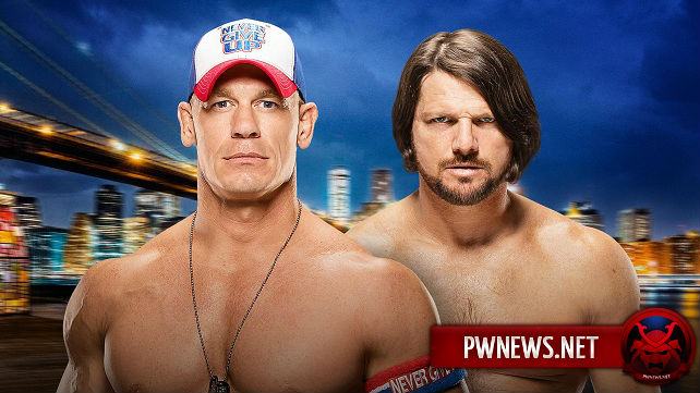 John Cena vs. AJ Styles - SummerSlam 2016