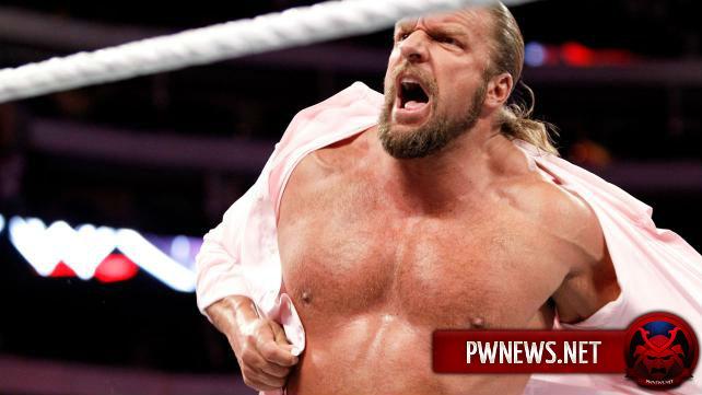 Трипл Эйч решил показать бывшему чемпиону WWE, кто заправляет этим местом
