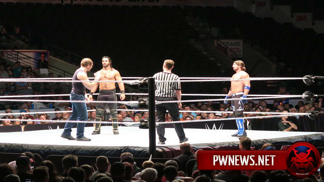 Обзор хаус-шоу WWE 10.07.2016 (Лондон, Онтарио, Канада) *ФОТО и ВИДЕО*