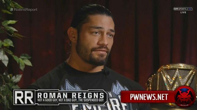 Из-за какого препарата Романа Рейнса отстранили WWE?