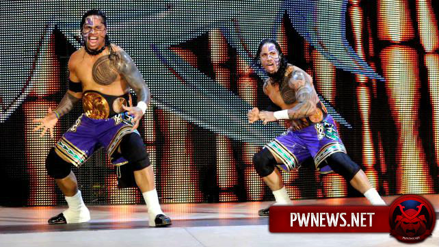 WWE готовят Братьев Усо к хил-терну