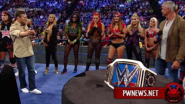 Известна первая претендентка на титул Женщин SmackDown (спойлер)