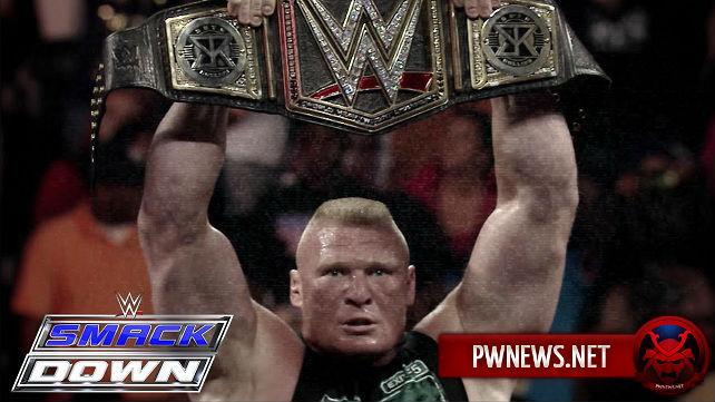 Брок Леснар должен совершить свое возвращение на SmackDown 19 июля