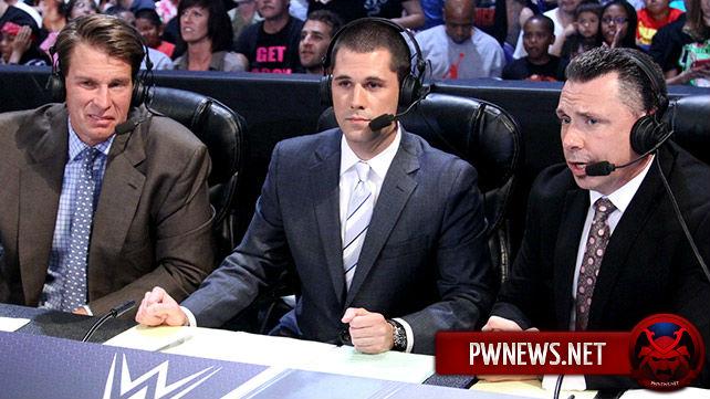 WWE обновили составы комментаторов Monday Night RAW и SmackDown