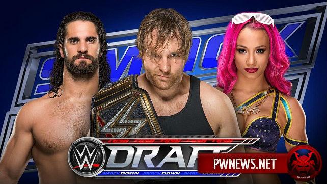Результаты WWE Draft и SmackDown (Live)