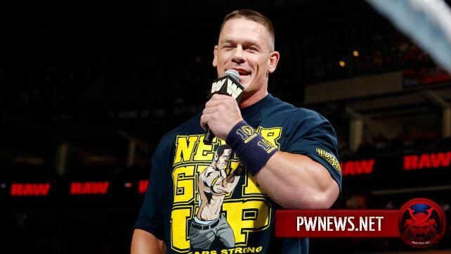 Джон Сина: «В мои планы не входит когда-либо покидать WWE»