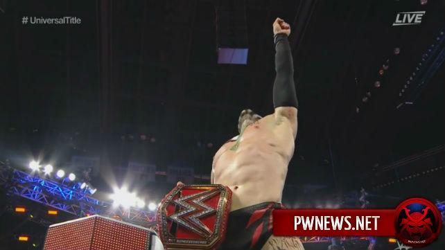 Определился первый вселенский чемпион WWE