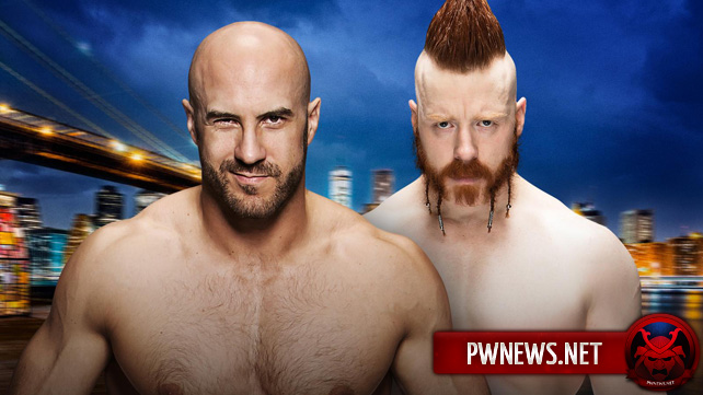 Cesaro vs. Sheamus (первый матч в Best of Seven серии)