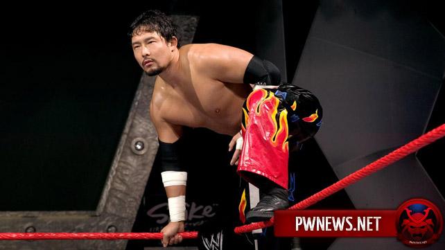 Йошихиро Таджири объявил об уходе из WWE
