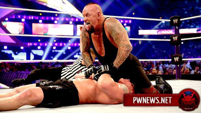 Гробовщик должен был победить Брока Леснара на WrestleMania 30