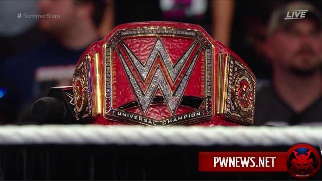 BREAKING NEWS: Чемпионство Universal становится вакантным