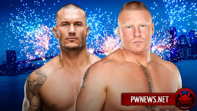 Официально: Randy Orton vs. Brock Lesnar — SummerSlam 2016