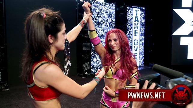 WWE планируют матч-реванш Саши Бэнкс с Шарлоттой; Бэйли пока не станет чемпионкой