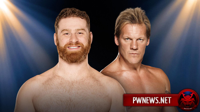 Sami Zayn vs. Chris Jericho — WWE Clash of Champions