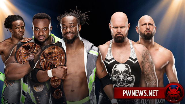 The New Day vs. Gallows & Anderson — WWE Clash of Champions