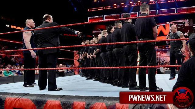 О том, с каким расчетом WWE пошли на сквош в матче Брока Леснара и Голдберга