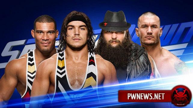 Выиграют ли Рэнди Ортон и Брэй Уайатт командные титулы SmackDown?