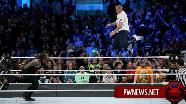 Шейн МакМэн действительно травмировался на Survivor Series