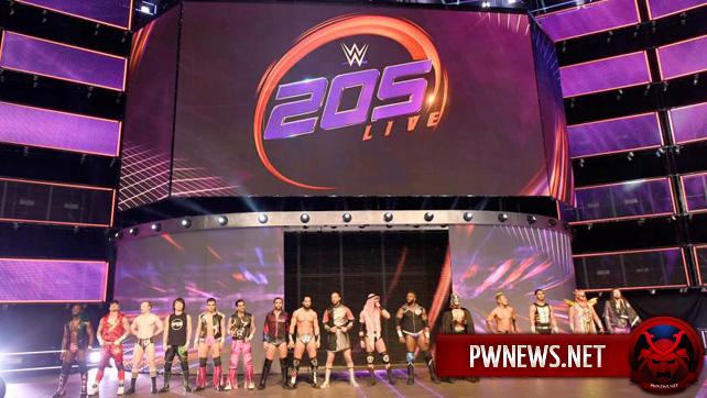 Серьезные проблемы с WWE 205 Live