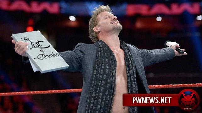 Крис Джерико о своем контракте и выступлении на WrestleMania 33