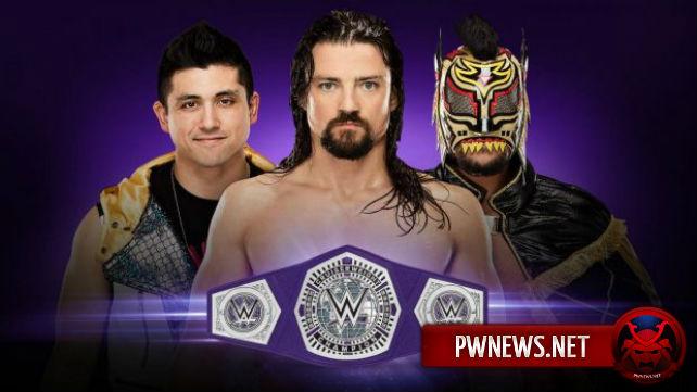 WWE объявили о проведении ещё одной программы с полутяжеловесами