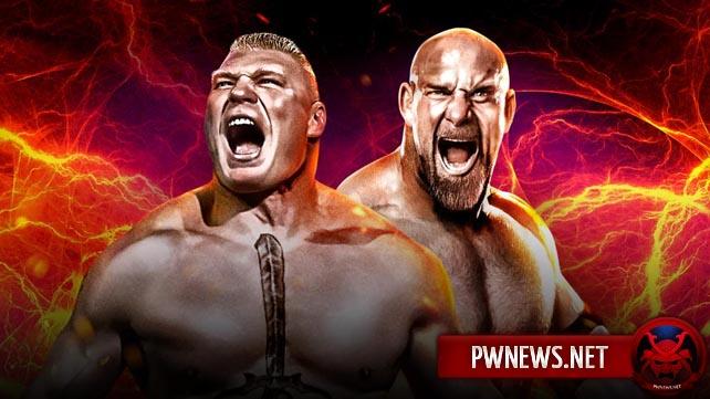 В WWE обеспокоены за матч Брока Леснара с Голдбергом