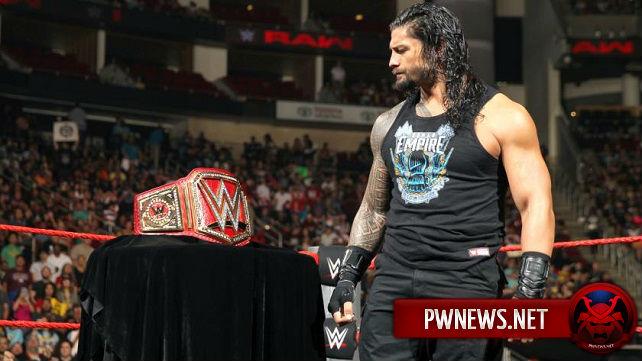 Когда Роман Рейнс начнет фьюд за титул чемпиона Вселенной WWE?