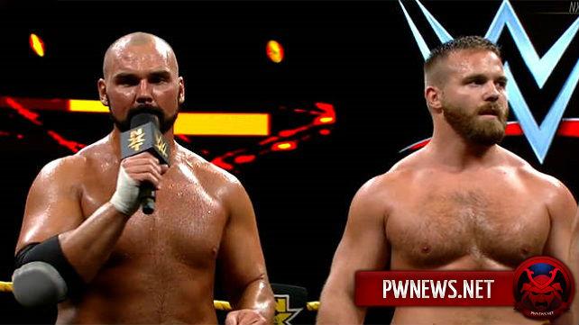 Командный чемпион NXT травмировался?