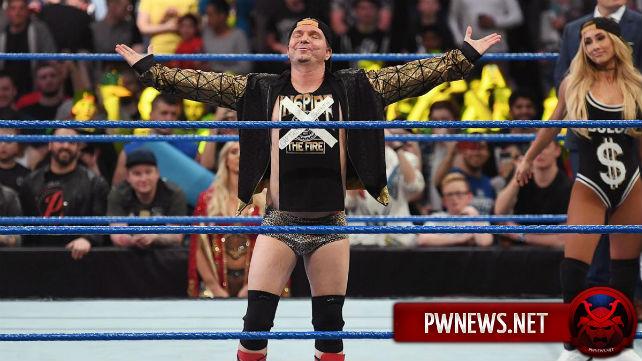 Джеймс Эллсворт в скором времени покинет WWE?