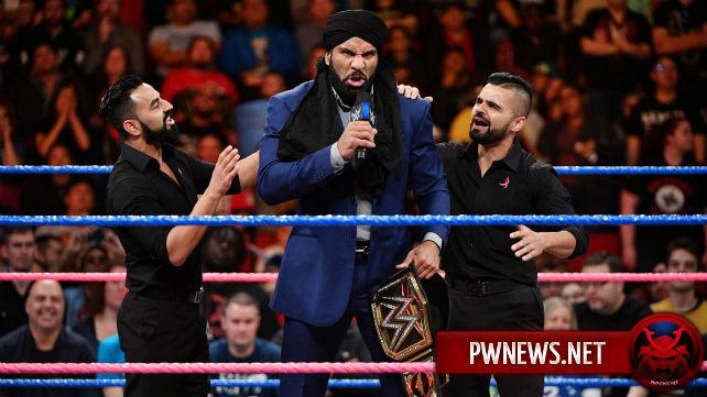 Джиндер Махал сделал громкое заявление насчет Survivor Series (ВНИМАНИЕ, спойлеры со SmackDown)
