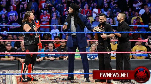 Обновление по матчу ЭйДжей Стайлза и Джиндера Махала на следующем SmackDown