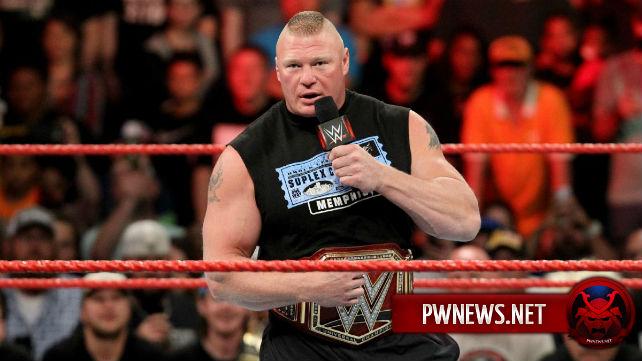 Брок Леснар рекламируется на PPV Survivor Series