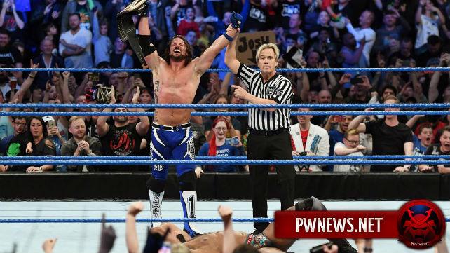 Ещё одна возможная причина выигрыша ЭйДжей Стайлзом чемпионства WWE