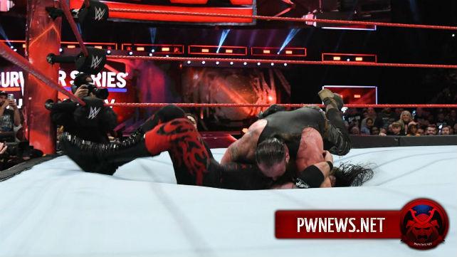 Возможная причина, почему матч Брона Строумэна и Кейна на Raw не начался